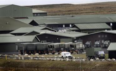 Así es la base militar de Malvinas