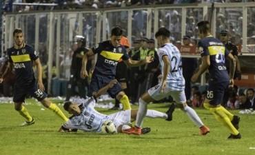 Atlético Tucumán y Boca igualaron en un intenso partido