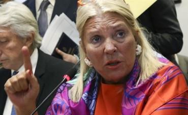 Carrió rechazó la reforma de Ministerio Publico y adelantó que presentará observaciones al proyecto