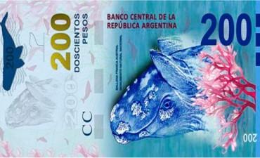 Los billetes de 200 pesos se verán en seis meses en la mayoría de los cajeros