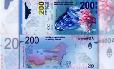 """Cómo reconocer el billete de la """"ballena"""" por sus medidas de seguridad"""