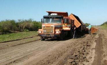Reposición de ripio en Ruta Provincial N 5
