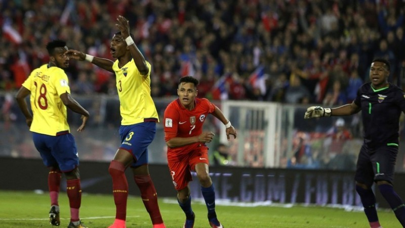 Chile le ganó a Ecuador y dio un paso fundamental