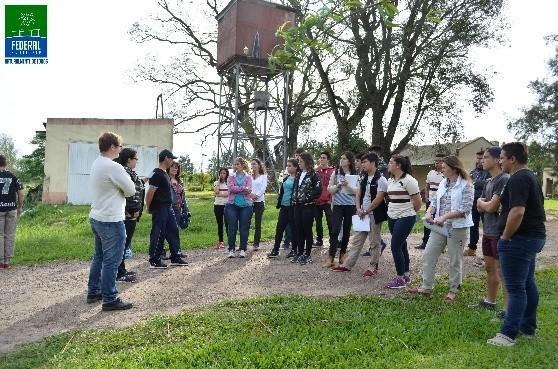 Visita de la Escuela Rural Alberdi