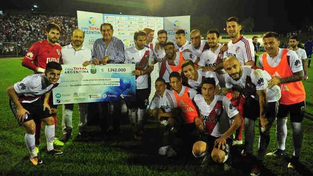 River eliminó a Defensa y Justicia y se metió en los cuartos de final de la Copa Argentina