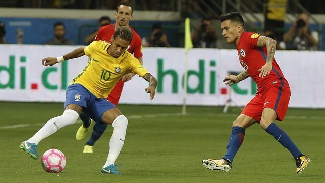 Brasil goleó a Chile y lo dejó afuera del Mundial