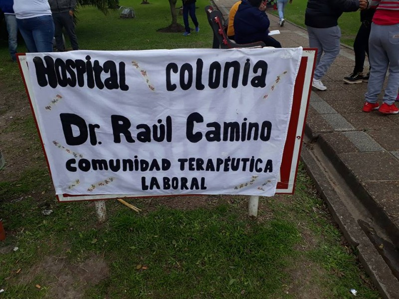 Personal y Usuarios del Hospital Colonia celebraron el Día Nacional y Mundial de la Salud Mental