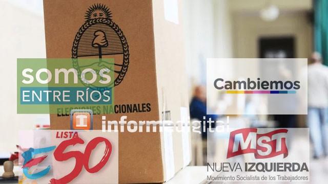 Entre Ríos, la única donde todos los candidatos declararon bienes