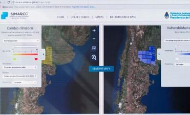 Lanzaron el Sistema de Mapas de Riesgo del Cambio Climático