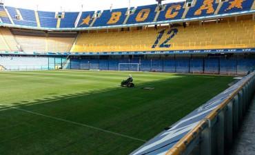 Eliminatorias: Así está la cancha de Boca a un día de Argentina - Perú