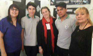 Alumnos del Pancho Ramirez obtuvieron el 3er puesto en el concurso