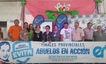 """FINALES PROVINCIALES DE LOS JUEGOS EVITA 2017 """"ABUELOS EN ACCIÓN"""""""