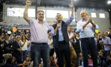 La Paz: Macri habló de federalismo de verdad y no de