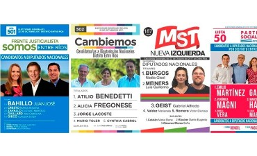 Oficializaron las boletas para las elecciones legislativas