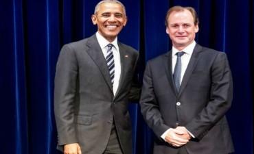 Obama le prometió a Bordet enviar empresarios a Entre Ríos