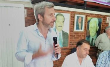 Frigerio visito Federal en apoyo a los candidatos de Cambiemos