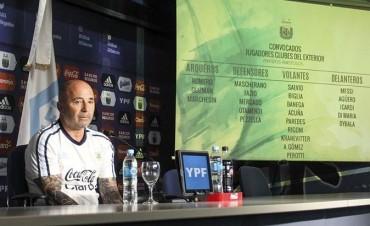 Sampaoli dio la primera lista camino al Mundial, con un regreso y una sorpresa