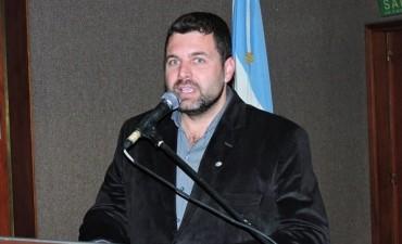 Gerardo Chapino Intendente del PJ denuncia robo de boletas