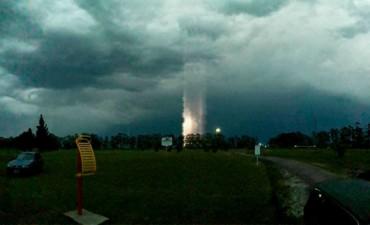 Espectacular fenómeno en cielo entrerriano