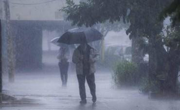 Alerta por tormentas fuertes con ráfagas para Entre Ríos y diez provincias