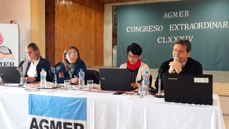 Gobierno suspendió reunión con AGMER y convocará a paritaria a través de Trabajo