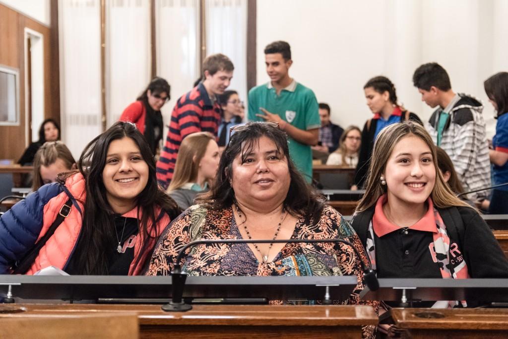 Senado Juvenil: Alumnos de Federal e Islas presentaron sus proyectos