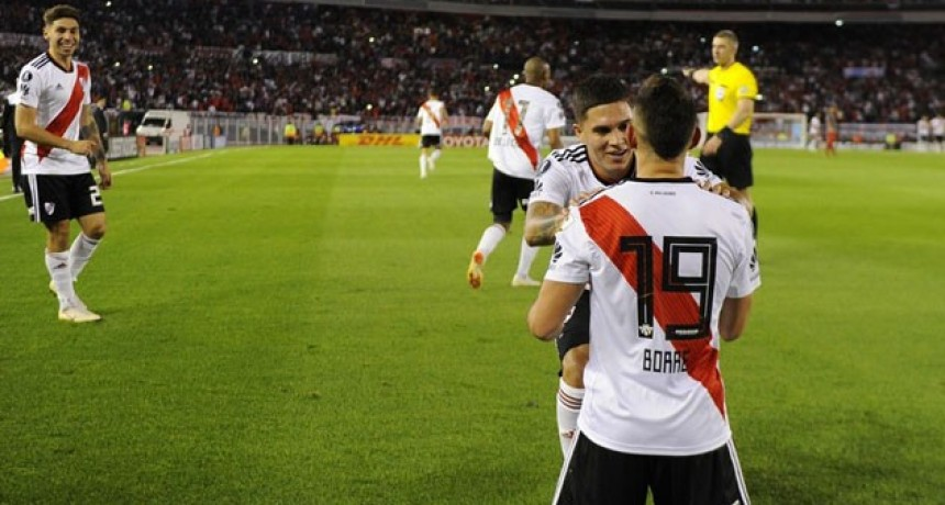 River venció a Independiente y se metió en la Semifinal de la Copa Libertadores