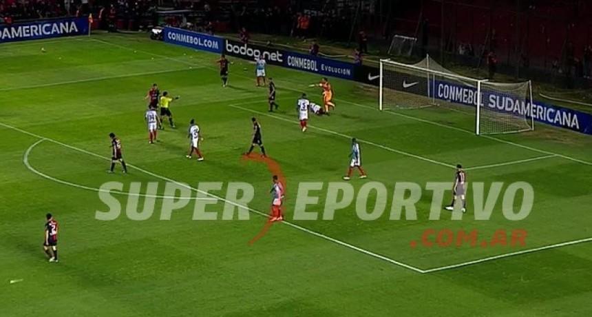 Colón empató frente a Junior en Santa Fe y quedó eliminado de la Copa Sudamericana