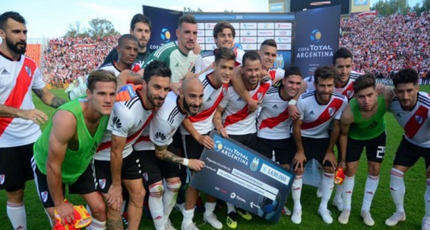 River venció a Sarmiento de Resistencia y es semifinalista de la Copa Argentina