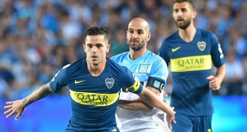 Boca rescató un empate frente a Racing en Avellaneda