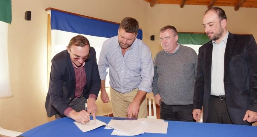 Aprobaron convenio entre el Municipio de Federal y C.Bernardi por el servicio de Justicia de Faltas .