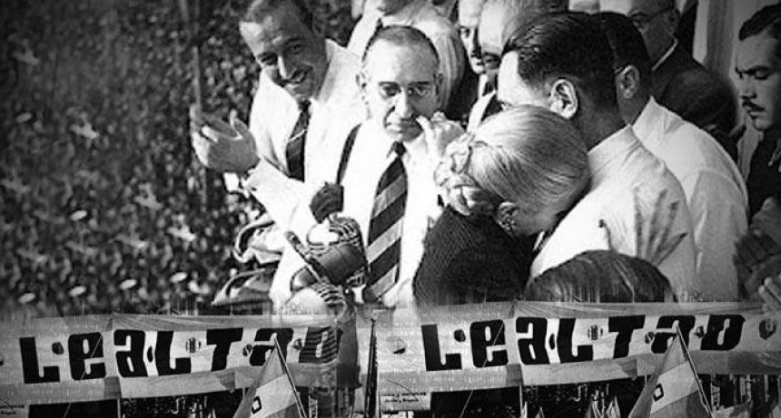 Día de la Lealtad Peronista, acto en Federal