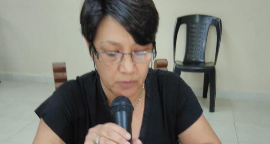 Fuerte reclamo por Justicia pidió la Concejal Silvina Parella