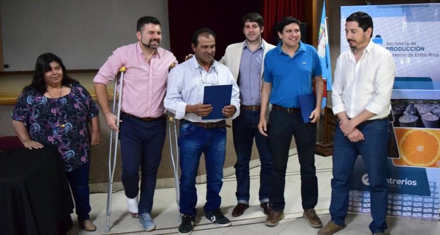 IMPORTANTE ENTREGA DE APORTES A PRODUCTORES DEL DEPARTAMENTO FEDERAL