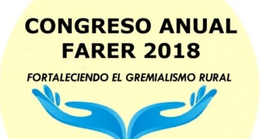 A SOCIEDAD RURAL DE FEDERAL SERÁ LA ANFITRIONA DEL CONGRESO FARER 2018.