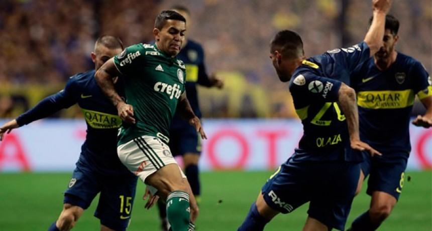 Con dos goles de Benedetto, Boca le ganó a Palmeiras y dio un gran paso rumbo a la final