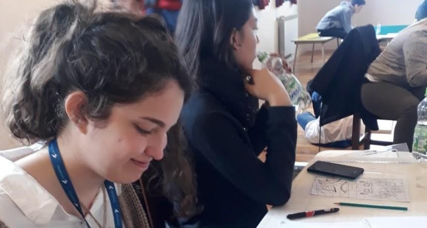 PARTICIPACIÓN DE LA FEDERALENSE ELENA BORZATTA EN LOS JUEGOS NACIONALES EVITA