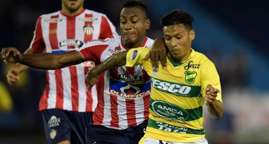 Defensa no pudo aguantar en Colombia y complicó su clasificación en la Sudamericana