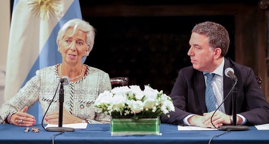 Ingresó el primer desembolso de US$ 5.631 millones del FMI
