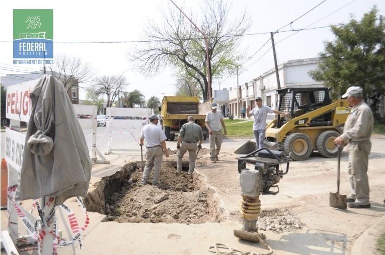 Tareas de mantenimiento y mejoras en la Ciudad