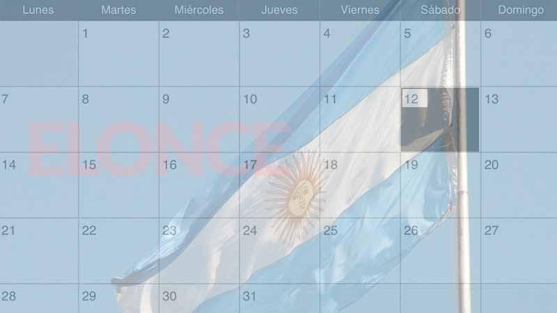 ¿Feriado o día no laborable?: Qué dispone el calendario para el 12 de octubre