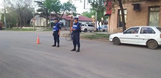 Variados operativos policiales en el Departamento