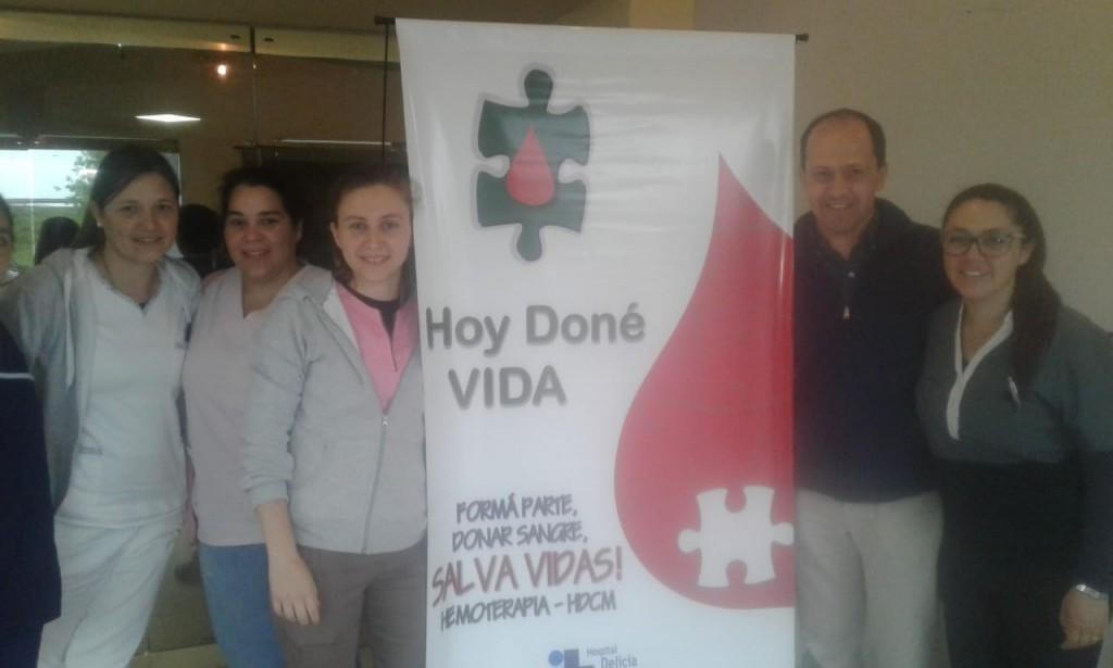 Campaña para donar sangre en Federal
