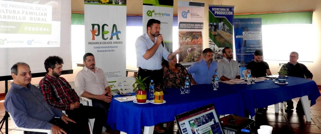 Federal fue sede del primer encuentro de Agricultura Familiar y Desarrollo Rural