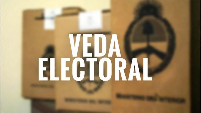 Rige la veda electoral: qué no se puede hacer