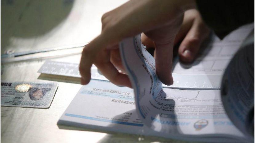 Cuáles son las multas para los que no voten este domingo