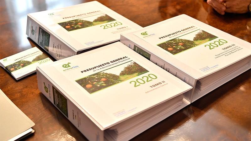 El Presupuesto 2020 tomará estado parlamentario la semana próxima