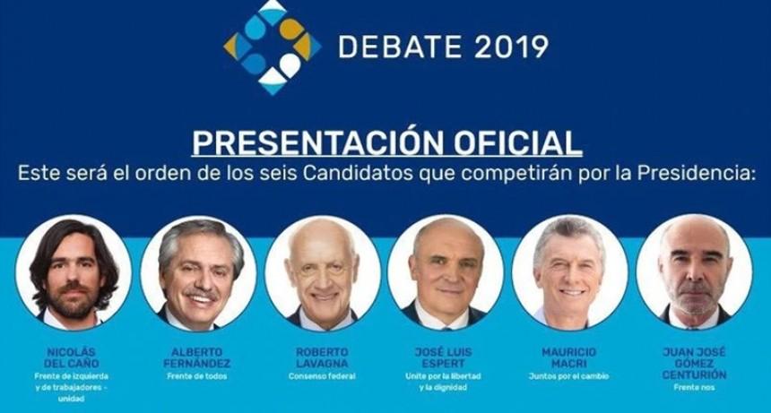 Debates presidenciales: Confirmaron quiénes serán los moderadores