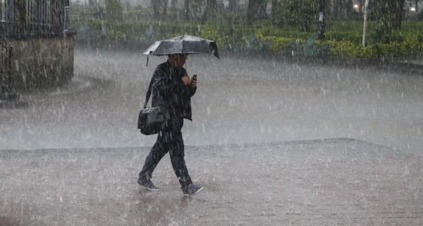 Cuanto lllovio en el departamento Federal ?