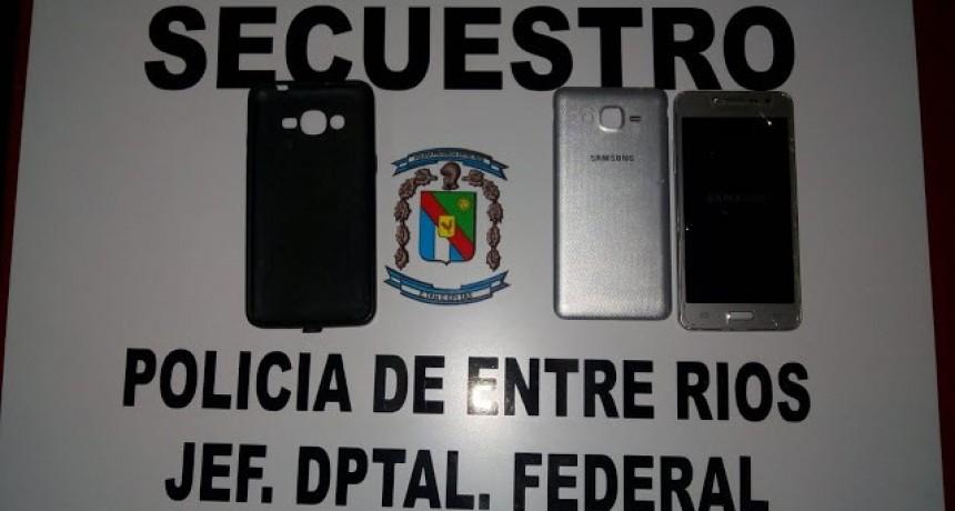 Personal de la División Investigaciones procedió al secuestro de un teléfono celular